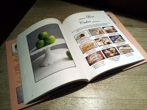 Cook book page